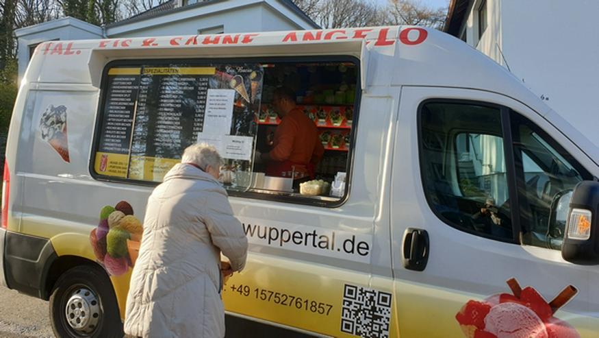 Bild 6: EISWAGEN Wuppertal Ronsdorf Remscheid Lüttringhausen  Wir dürfen noch