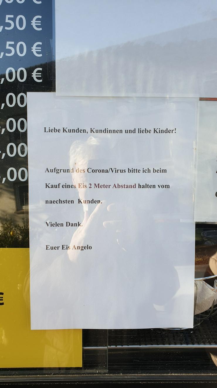 Bild 4: EISWAGEN Wuppertal Ronsdorf Remscheid Lüttringhausen  Wir dürfen noch