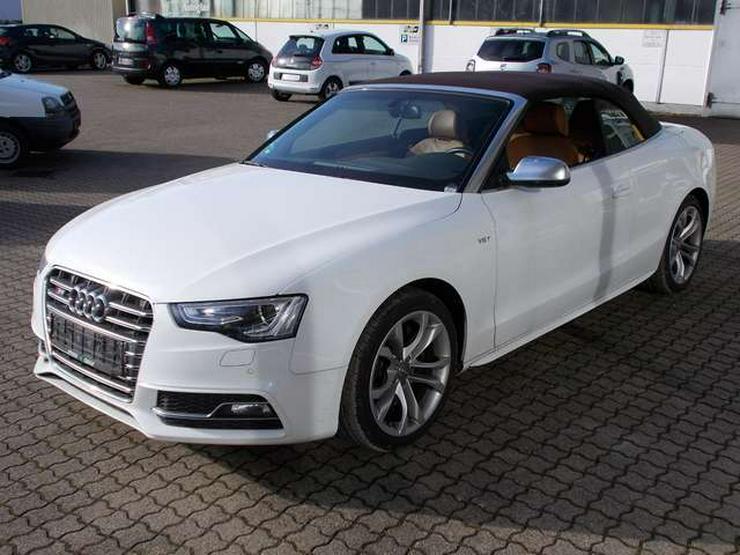 Audi S5 Cabrio - Automatik - Allrad - Leder - Navi - Klima - Alufelgen - TOP - GEWERBLICH -  - Weitere - Bild 1