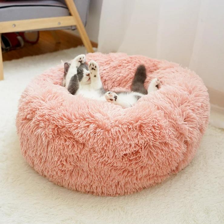SUPERFLAUSCHIGES Hunde-/Katzen-Bett • ab 19.99€ • IN GRÖßE S, M, L, und XL VERFÜGBAR!