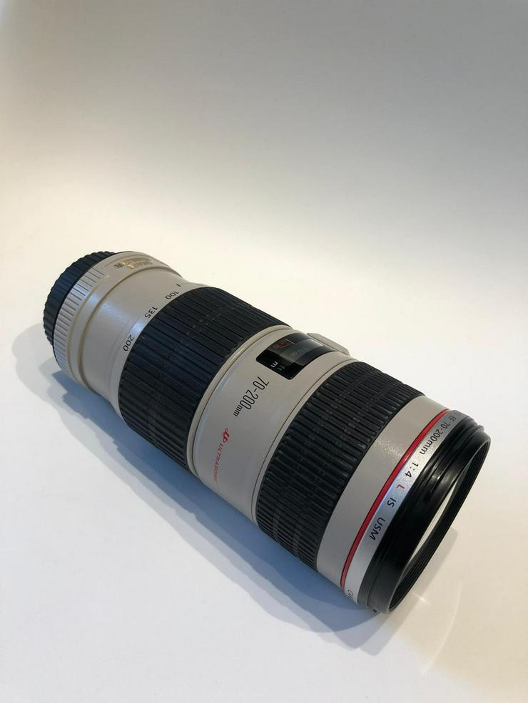 NEU TOP Zustand - Canon EF 70-200mm f/4,0 L USM Canon EF