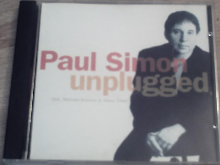 "PAUL SIMON  ""UNPLUGGED""  feat Michael Brecker & Steve Gadd.  Recorded live 1993 in U,.S.A"