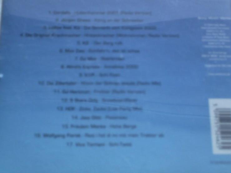 Bild 2: HÜTTENKULT die Tritte    CD 1  garantiert pistensau geprüft