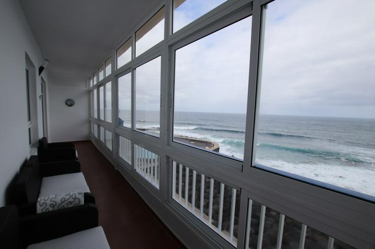 3Zi. Whg. in erster Meereslinie, direkt an den Naturschwimmbädern, in Bajamar, Teneriffa LANGFRISTIG ZU VERMIETEN! - Wohnung mieten - Bild 1