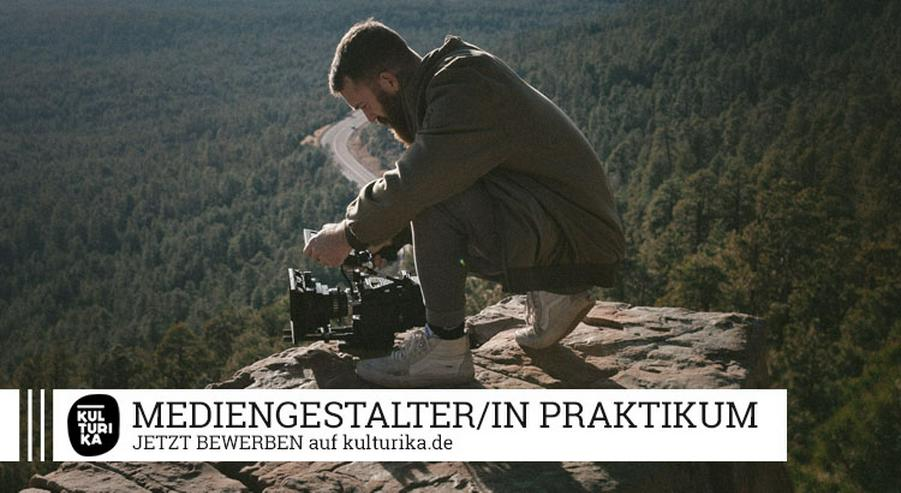 MEDIENGESTALTER/IN (M/W/D) BILD & TON PRAKTIKUM