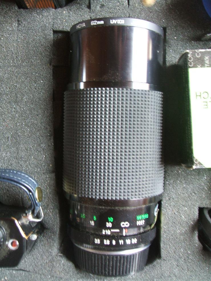 """Bild 3: Spiegelreflexkamera der Marke """"Yashica FR 1""""an. Mit viel Zubehör im Alukoffer!"""