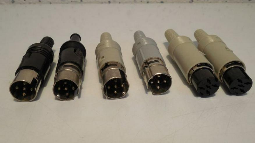 5-polige Würfel-Stecker, -Buchse, -Adapter