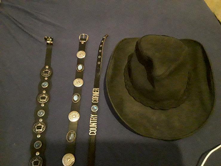 Biete für den Cowboyhut Hutbänder