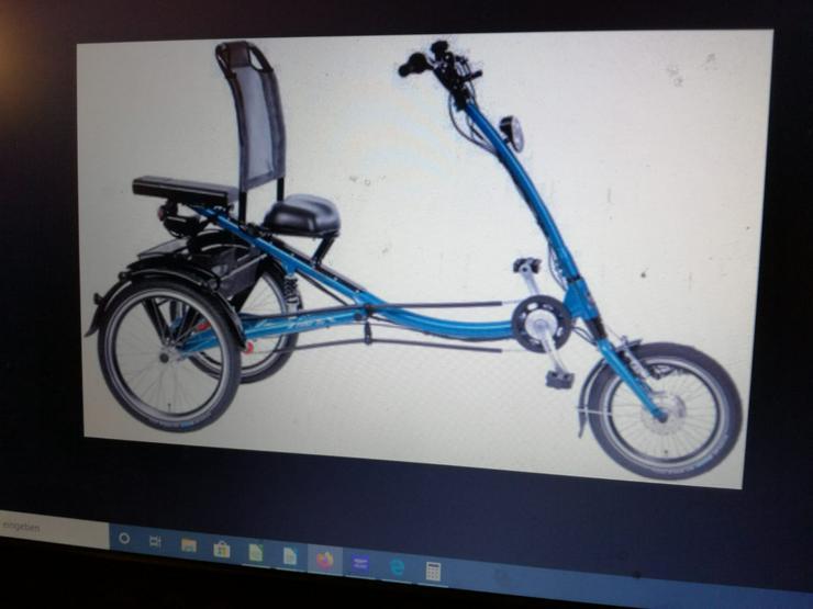 Elektro-Dreirad, neuwertig zu verkaufen