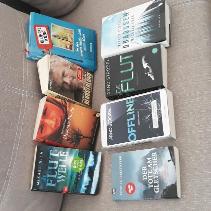 Div. Taschenbücher, alle fast wie neu