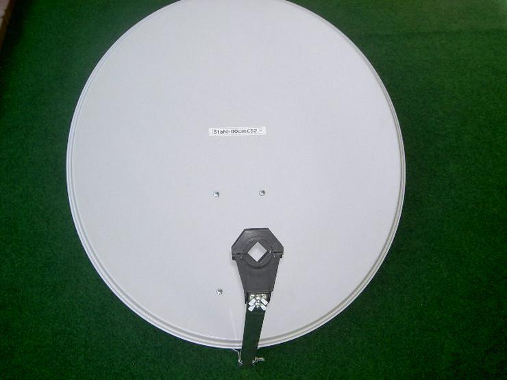 SAT-Spiegel 80cm Stahl verzinkt  Neu