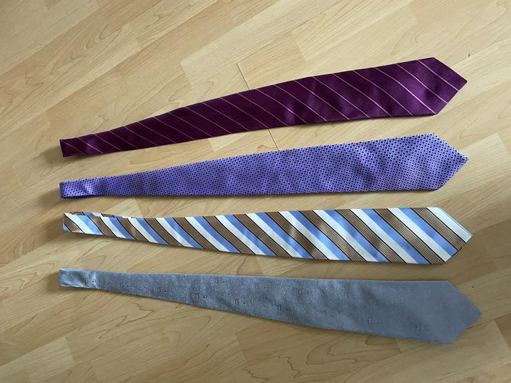 verschiedene Krawatten