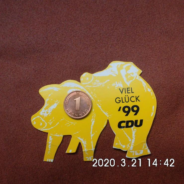 1 Pfennig CDU 199