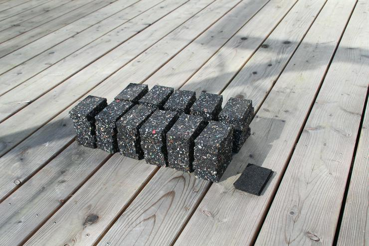 Auflagepads für Holzterrasse