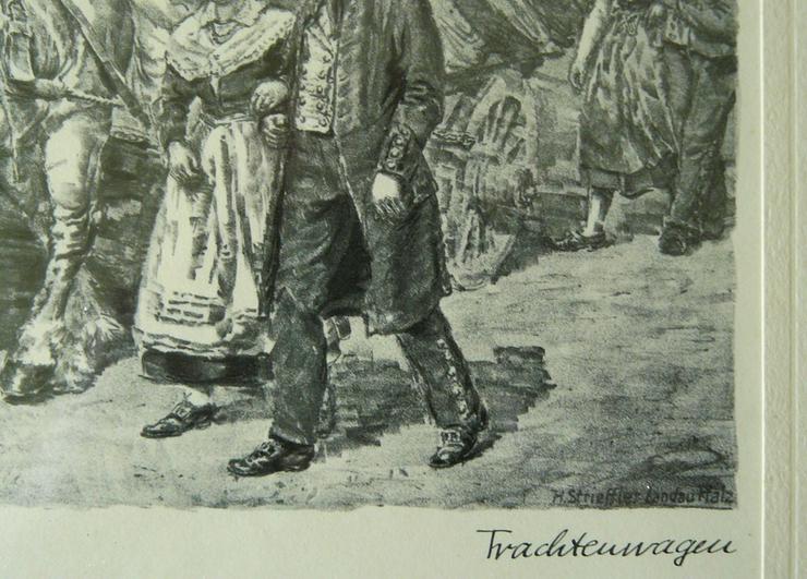 Bild 3: Strieffler Heinrich Trachtenwagen Grafik (B078)