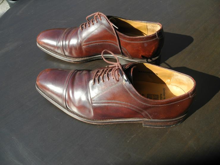Gut erhaltene Herren City/Anzug-Schuhe in braun. Originalsohle
