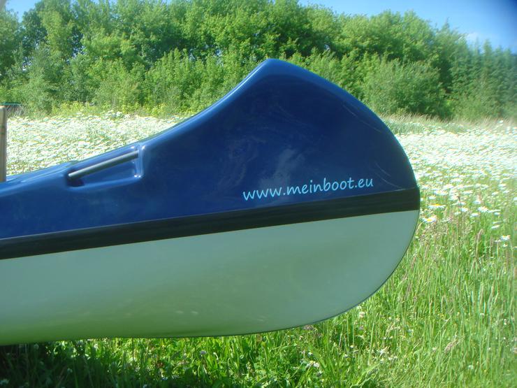 Bild 6: Kanu 4er Kanadier 550 Neu ! in blau /weiß