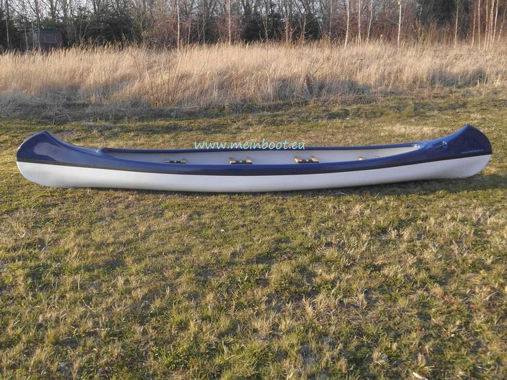 Bild 2: Kanu 4er Kanadier 550 Neu ! in blau /weiß