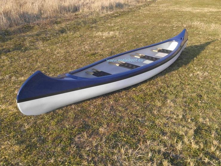 Kanu 4er Kanadier 550 Neu ! in blau /weiß - Kanus, Ruderboote & Paddel - Bild 1
