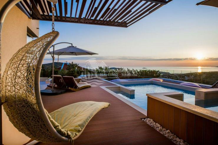 Bild 6: Moderne 5 Sterne Villa mit traumhaft schönen Panoramablick in Primosten