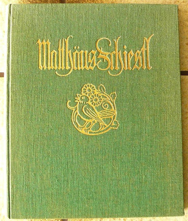 Buch und Album über Matthäus Schiestl (BU005)