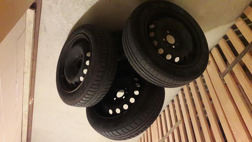 Komplettsatz Räder inkl. Fulda-Sommerreifen für Renault TWINGO I