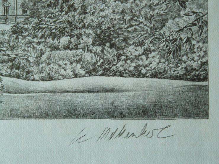 Bild 3: Villa Hügel Grafik von Werner Krawinkel (B080)