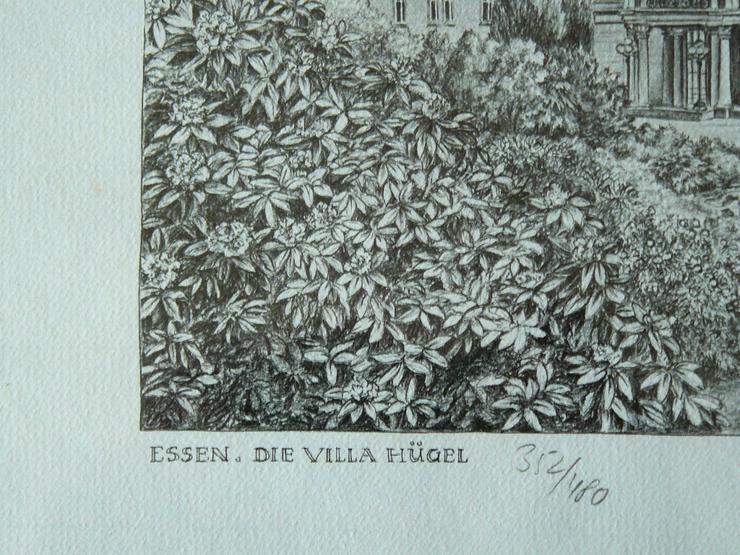 Bild 2: Villa Hügel Grafik von Werner Krawinkel (B080)