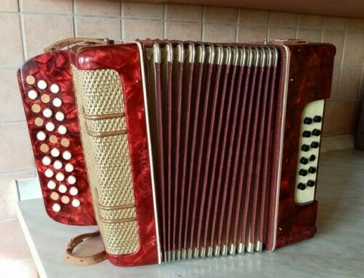 Ziehharmonika Knopfakkordeon
