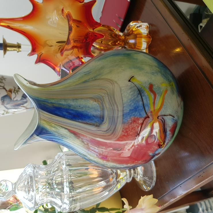Design Glasvase von Murano