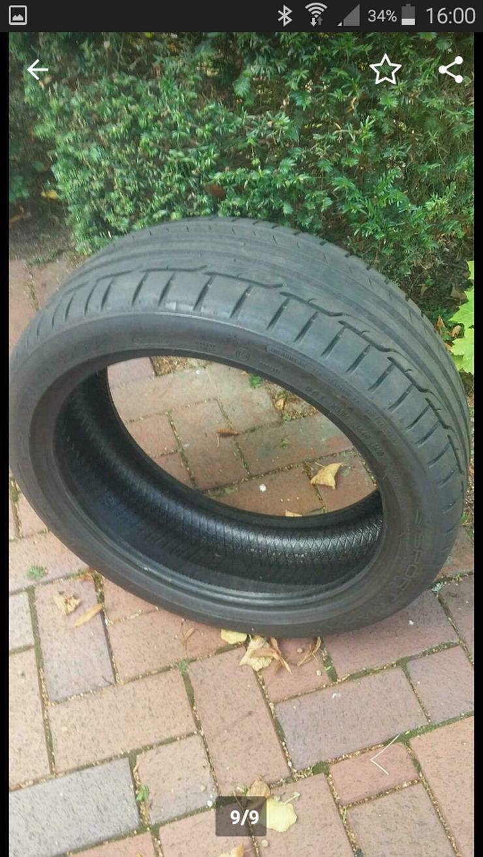Dunlop 205/45 neuwertig 4 Stück