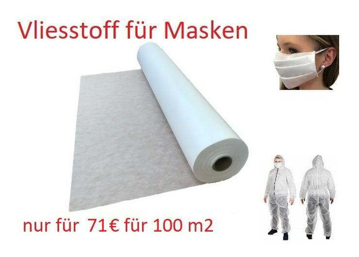 Vliesstoff Meterware, Polstervlies, Vlies 160 cm breit - 100 m2 - 71,00 €