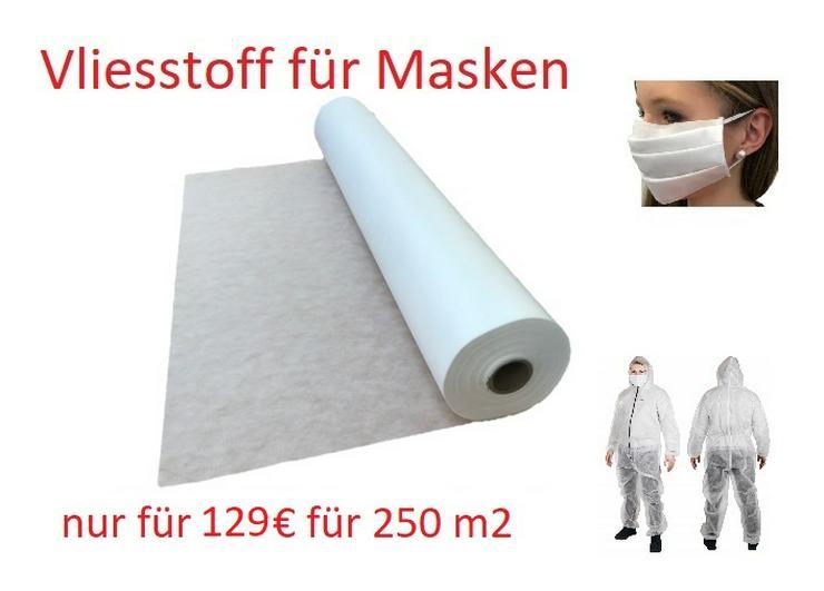 Vliesstoff Meterware, Polstervlies, Vlies 160 cm breit - 250 m2 - 129 €