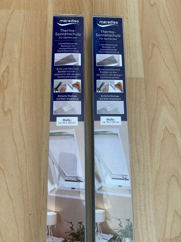 Thermo-Sonnenschutz für Dachfenster