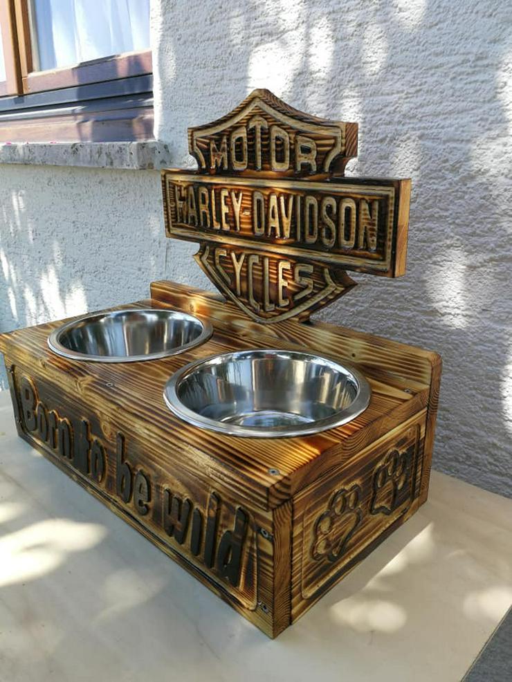 Hunde Futter,-Wasserstation Harley Davidson - Neu. - Futter & Näpfe - Bild 1
