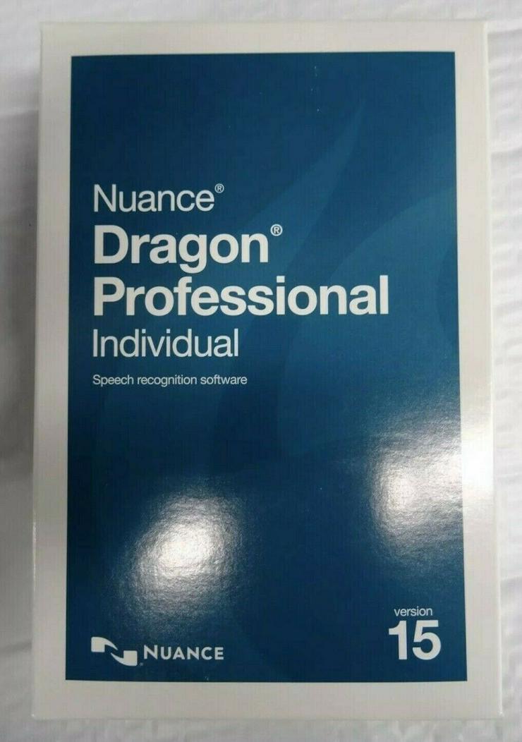 Nuance Dragon Professional Individual v15.0 neu - Grafik, Audio, Design & Multimedia - Bild 1