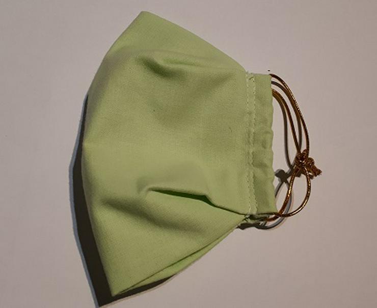 Waschbare, Baumwolle Mundmaske Fünferpack