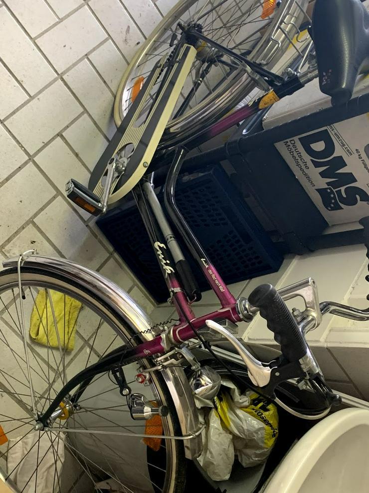 """Damenfahrrad """"Rachität"""" von ENIK, Handgemacht 20 KM Laufleistung"""