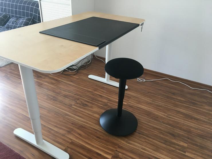 Schreibtisch Höhenverstellbar Ikea