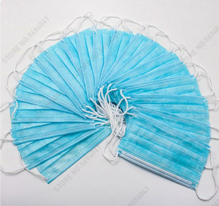 Bild 3: 50 Stk. Atemschutzmasken Gesichtsmaske 50€
