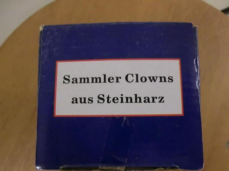 Clown aus Steinharz