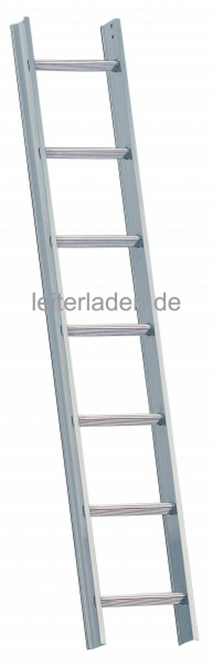 Verkaufe neue Alu- Layher Dachleiter 7 Sprossen mit Dichtungsgummi 1,96 m