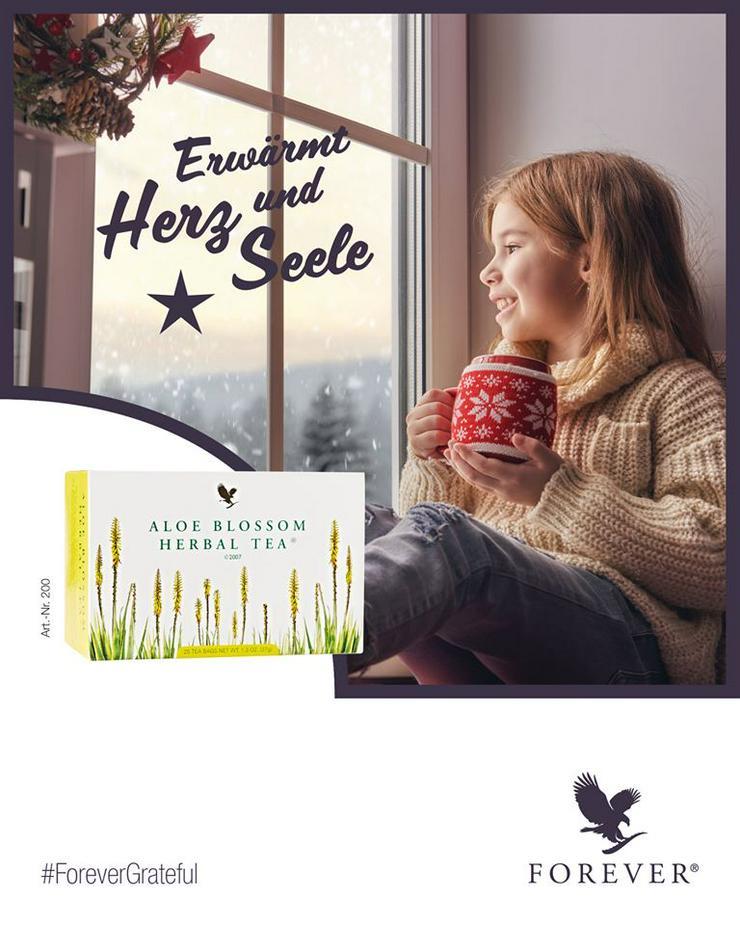 FOREVER ALOE BLOSSOM HERBAL TEA - 3+1 gratis oder mit 15% Rabatt