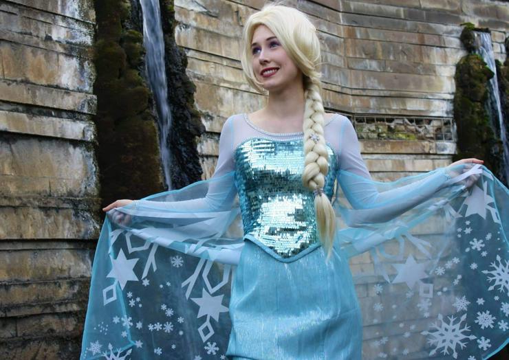 Märchenhafte Videogrüße Grüße Eiskönigin Prinzessin