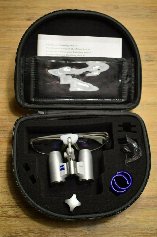 Bild 2: Zeiss Eyemag Pro F 3,2 x 500mm 58-18 NEU Lupenbrille Zahnmedizin Medizin Lupe