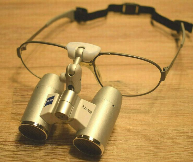Zeiss Eyemag Pro F 3,2 x 500mm 58-18 NEU Lupenbrille Zahnmedizin Medizin Lupe - Objektive, Filter & Zubehör - Bild 1