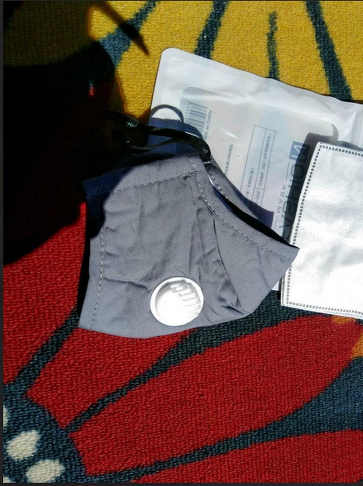 Mundschutz Baumwolle Filter PM 2.5 - Weitere - Bild 1