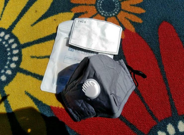 Bild 3: Mundschutz Baumwolle Filter PM 2.5