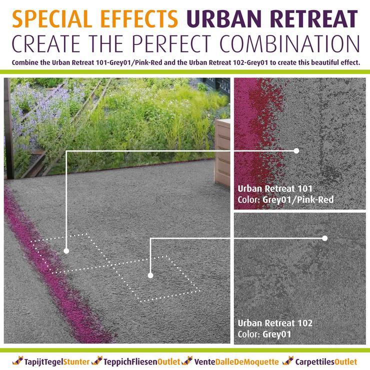 Bild 3: Wunderschöne Urban Retreat 'Special' Teppichfliesen von Interface