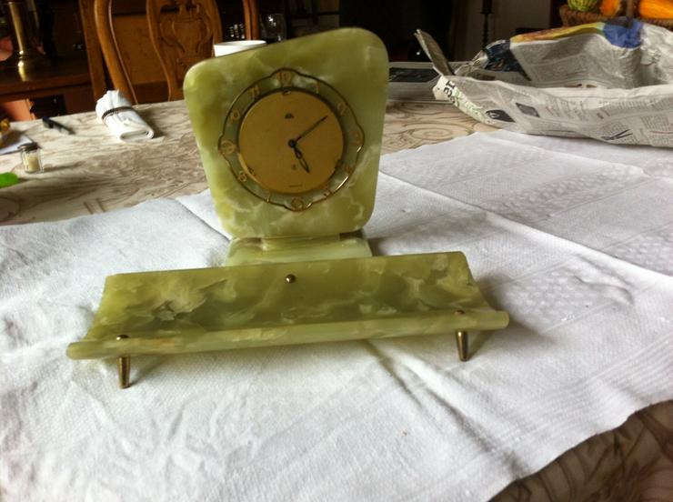 Schreibtischgarnitur Onyxmarmor